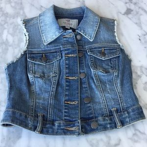 GUESS denim vest (new without tags)
